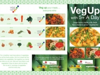 Veg Up 5 ADay family meals DLE Brochure 1