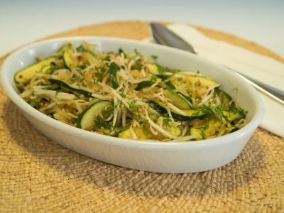 Stir fried vegetables with bean sprouts