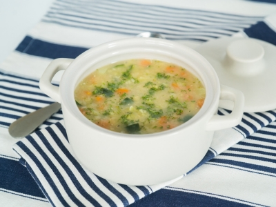 Vegetable and dahl soup