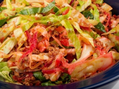 Cabbage one pot dish