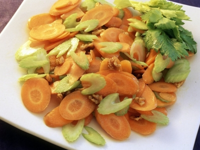 Carrot and celery salad