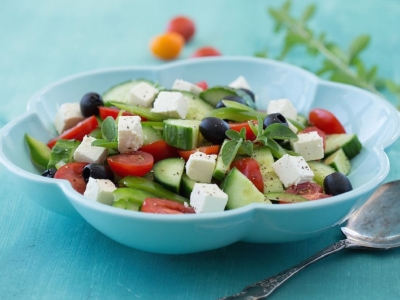 Greek country salad