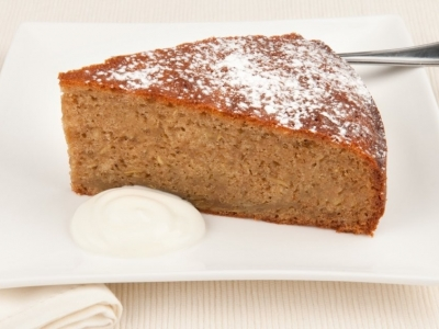 Kumara and ginger cake