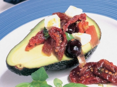 Mediterranean flavours with avocados