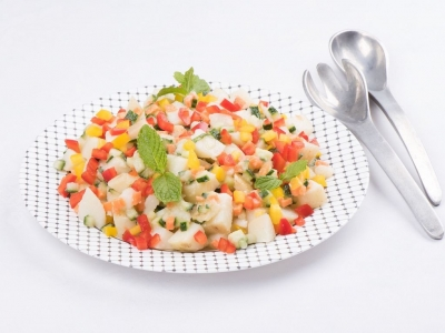 Potato and vegetable salad