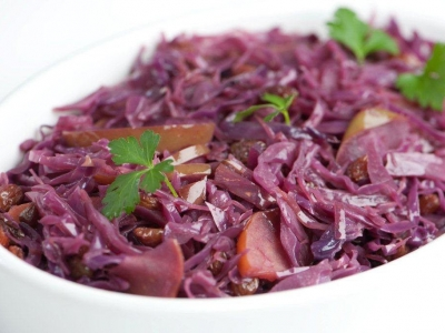 Red cabbage braise