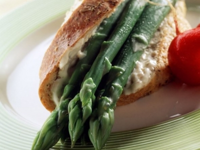 Rustic asparagus rolls vegetables rustic asparagus rolls ccuart Image collections