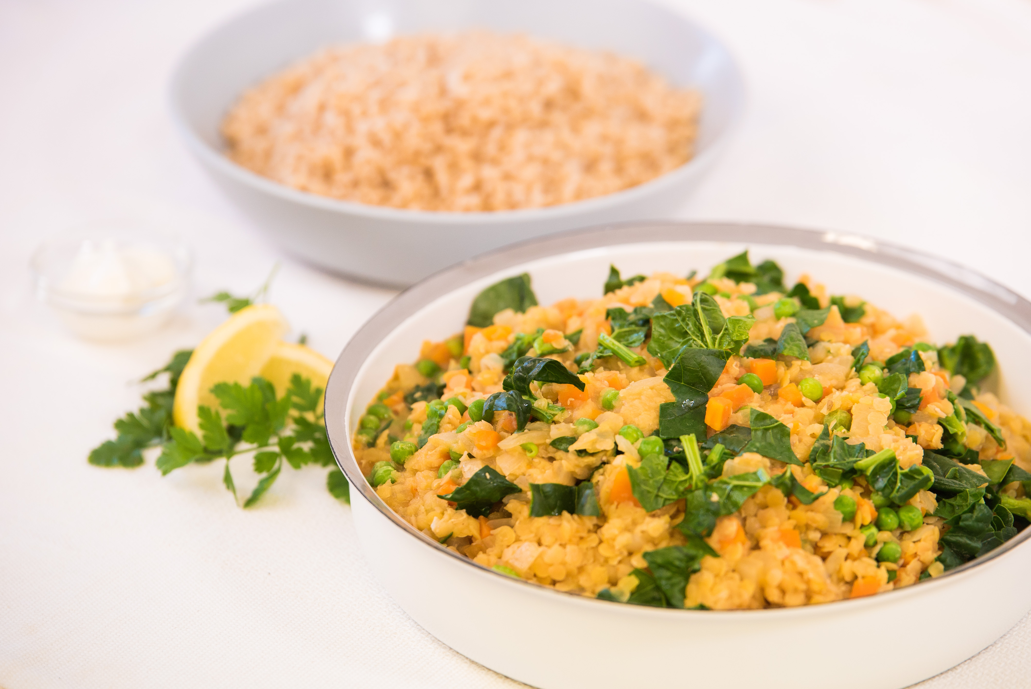 Vegetable and Red Lentil Curry