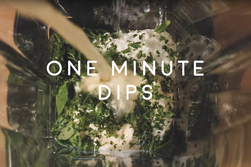 One minute dips