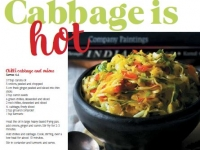Cabbage is hot