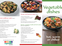 Cafe Food Vegetable Dishes