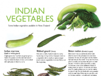 Indian Vegetables Poster Cover