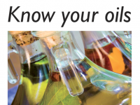 Know Your Oils Cover
