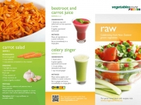 Raw Vegetable Recipes 1