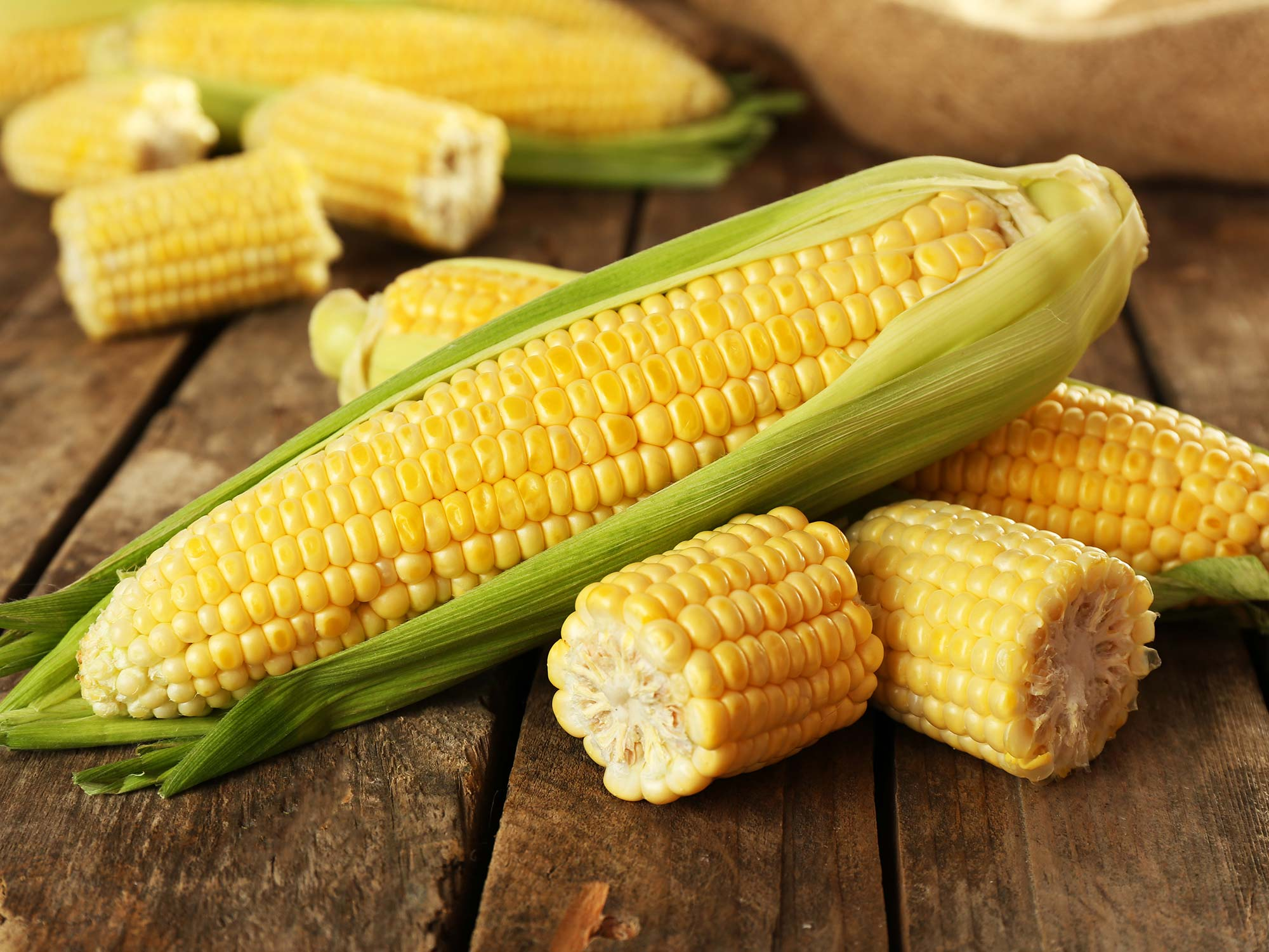 Sweet corn - Vegetables