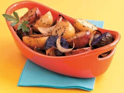Balsamic roasted specialty potatoes