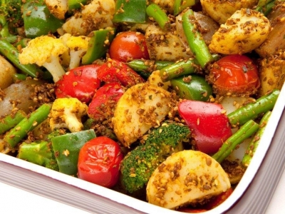 Balti vegetables
