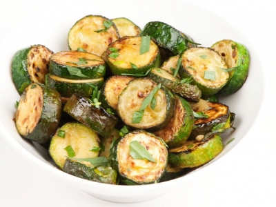 Courgettes with tarragon
