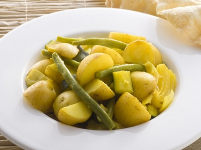 Curried Indian vegetables