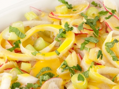 Fennel and radish salad