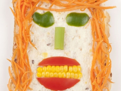 Funny face salad