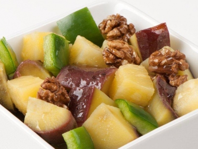 Kūmara and pineapple salad