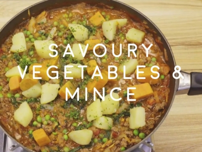 Savoury Vegetables and Mince