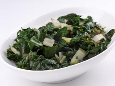 Simmered silverbeet