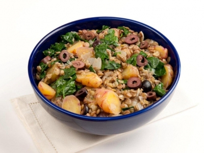 Yams, onions and lentils