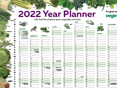 Vegetable Wallplanner Download