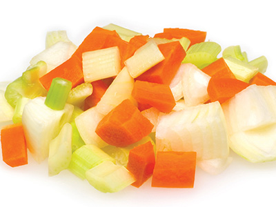 Vegetables Cuts